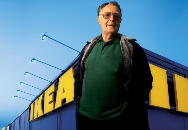 В Швеции умер основатель IKEA и благотворитель Ингвар Кампрад