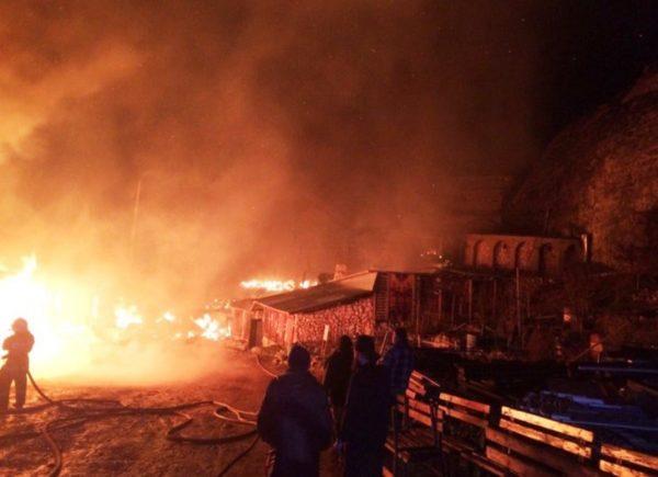 Пожарные спасли от огня «бисерный» храм Святой Анастасии в Крыму