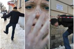 8 опасных зимних ситуаций – коварный лед, петарды и спортивный экстрим