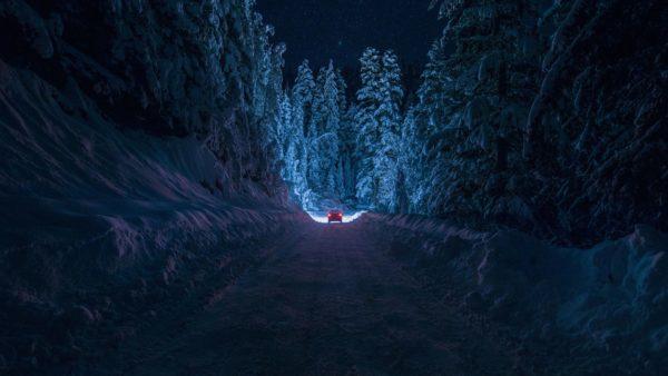 Уральские автоинспекторы спасли замерзающую на трассе семью глухонемых