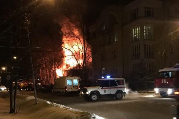 Обнинский студент спас из огня женщину и двоих детей