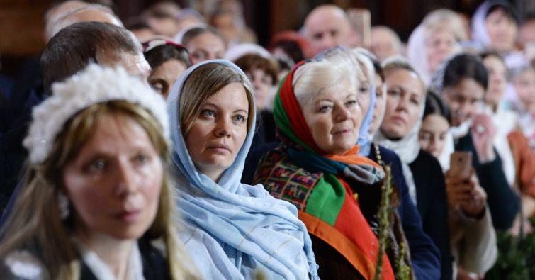 Рождественские богослужения посетили более 2,5 млн россиян