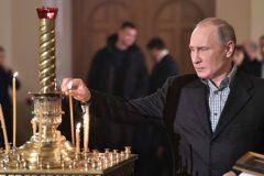 Владимир Путин поздравил православных россиян с Рождеством
