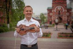 Скрипач-виртуоз бесплатно выступит перед пациентами больницы Святителя Алексия