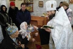 На Украине обвенчалась пара, жившая в браке 74 года