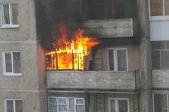 Жильцы дома в Москве помогли трем детям спастись от пожара