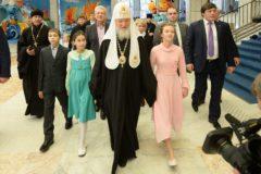 Патриарх Кирилл поблагодарил семьи, воспитывающие детей-инвалидов