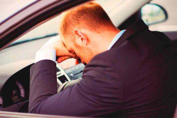 Около 10% ДТП происходит из-за сонливости за рулем