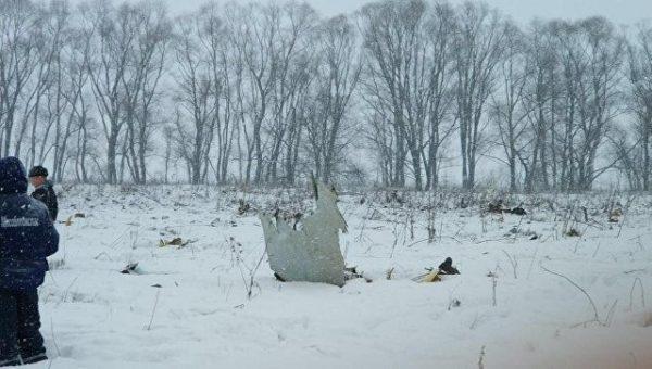 Обнародован список погибших при крушении Ан-124