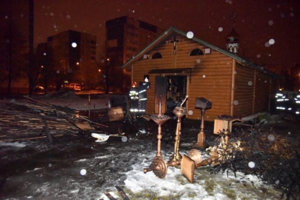 Львовский архиепископ УПЦ рассказал о поджоге храма радикалами