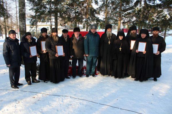 Священники из орловского села создали добровольную пожарную дружину