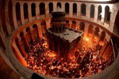 Храм Гроба Господня в Иерусалиме закрыт в знак протеста против налогов городских властей