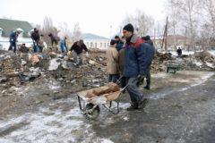 Сгоревший в казахском селе храм помогают восстанавливать верующие разных конфессий