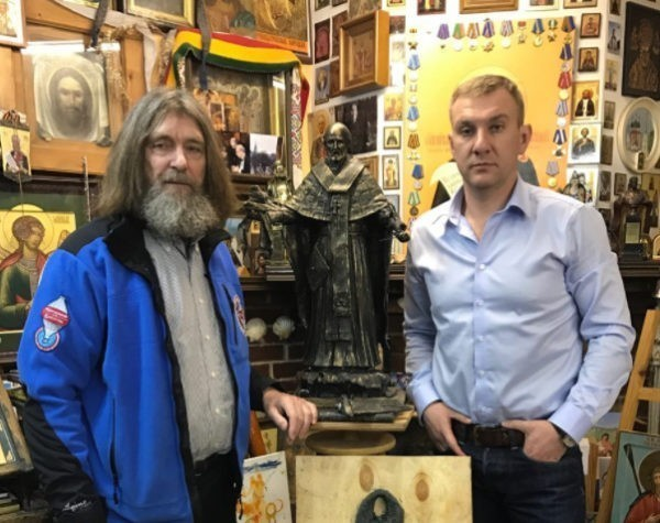 В Мурманске установят памятник Николаю Чудотворцу по проекту Федора Конюхова