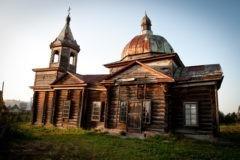 Томская церковь-памятник архитектуры находится под угрозой обрушения