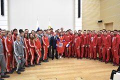 Патриарх Кирилл и Владимир Путин поддержали российских олимпийцев