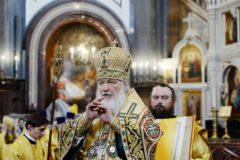 Патриарх Кирилл отметит день рождения литургией и работой
