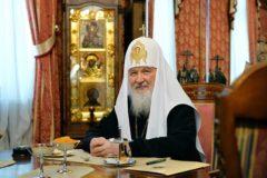 Патриарх Кирилл передал икону деревенскому храму в  Красноярском крае