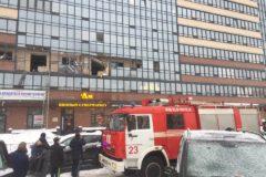 В Петербурге при взрыве газа ранено четыре человека