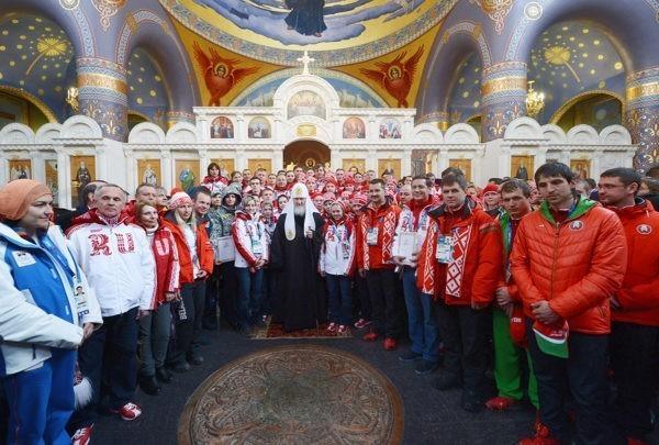 Патриарх Кирилл: Спортсмена должна сопровождать духовная аскеза