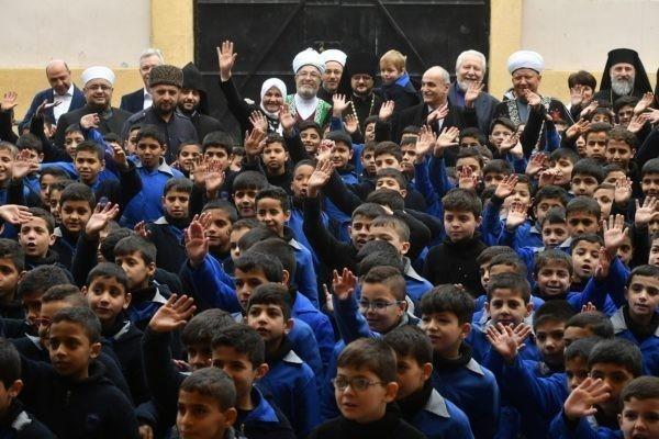 Российские религиозные общины помогли сирийским сиротам