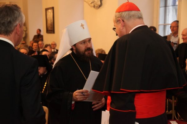 Митрополит Иларион: Цель Русской Церкви – содействие укреплению межрелигиозного мира в Сирии