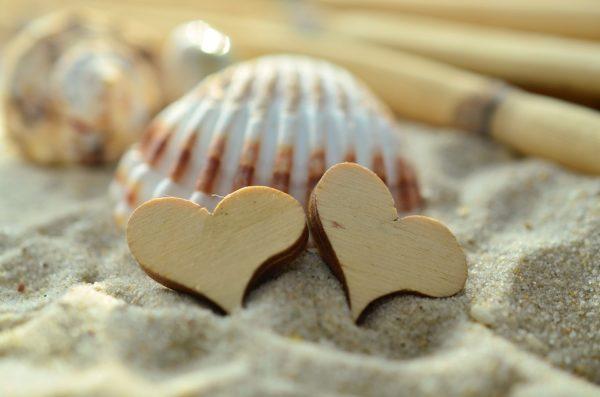 Красивая открытка к дню влюбленных