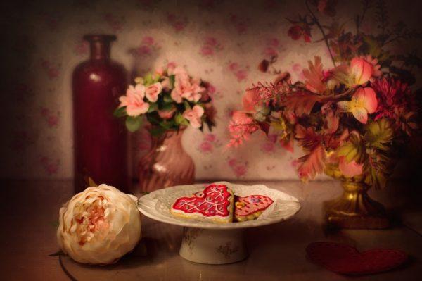 День святого Валентина - пряники
