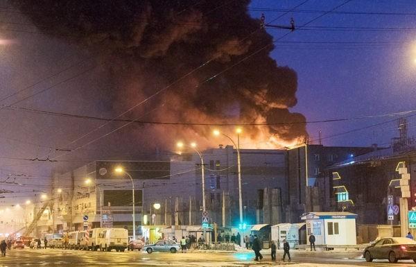 Пожар в Кемерово. 64 человека погибли. Информация обновляется