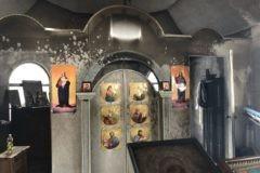 В Киеве неизвестные совершили поджог храма УПЦ
