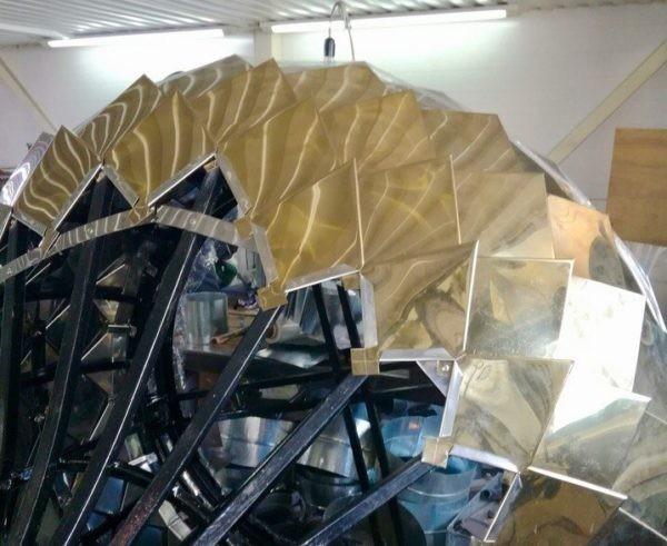 На абаканском храме установят 3D купола