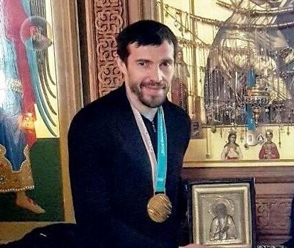 Павел Дацюк поблагодарил Бога за победу на Олимпиаде в Среднеуральском монастыре