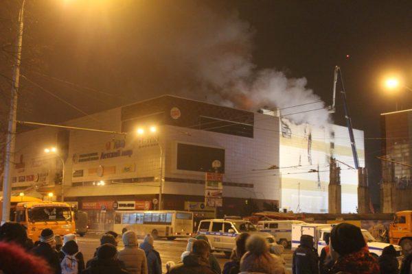 Пять человек из пропавших на пожаре в Кемерове найдены живыми