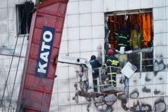 МЧС обнаружило всех погибших во время пожара в Кемерово
