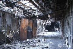Основной причиной пожара в кемеровском торговом центре  называют поджог