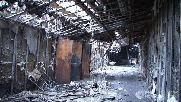 СКР обвинил в халатности командира пожарного звена, тушившего пожар в Кемерово