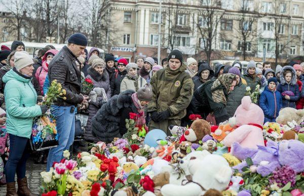 Жители Кемерово просят построить на месте сгоревшего торгового центра часовню или парк с монументом
