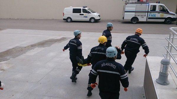 В результате пожара в наркодиспансере в Баку  погибли более 20 человек