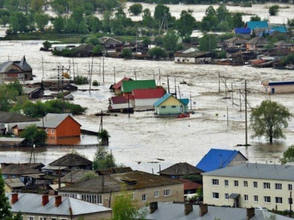 В Алтайском крае введен режим ЧС из-за паводка