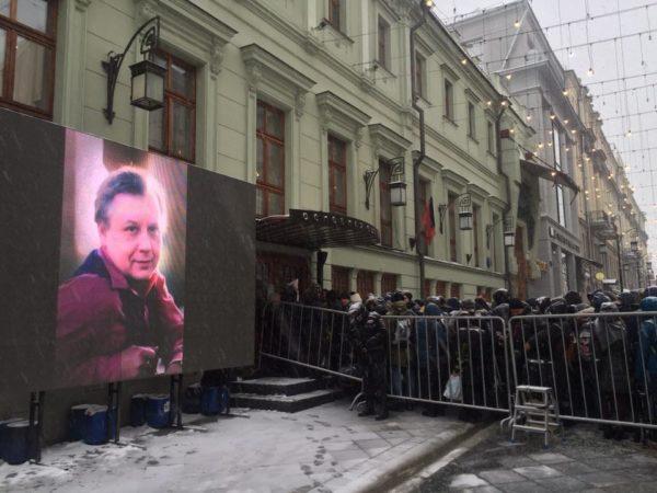 В Москве прощаются с Олегом Табаковым