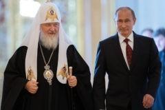 Патриарх Кирилл поздравил Владимира Путина с переизбранием на пост президента России