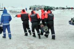 В Магадане спасены 140 рыбаков с отколовшегося ледового поля
