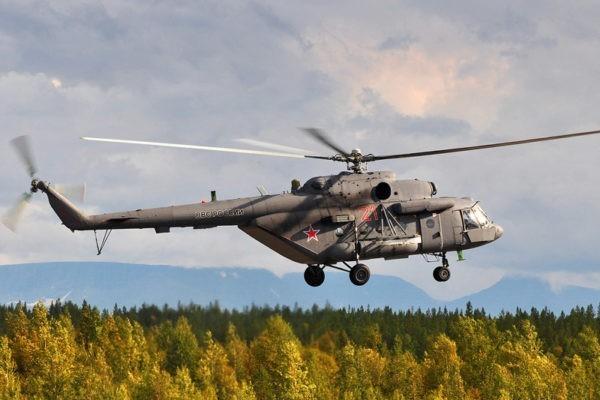 В Чечне разбился вертолет Ми-8: погибли от семи до девяти человек
