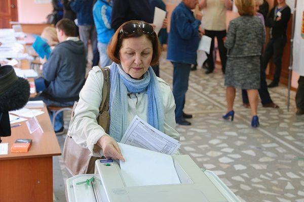 Выборы президента России. Онлайн