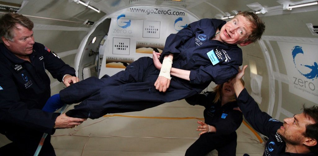 Стивен Хокинг: в инвалидном кресле в открытый космос