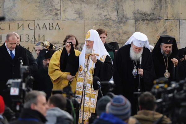 Патриарх Кирилл разочарован умалением роли России в освобождении Болгарии
