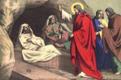 Христос словом воскресил Лазаря, и тем же словом воскреснут все (+аудио)