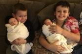 Четырехлетний герой стал донором костного мозга для своих братьев