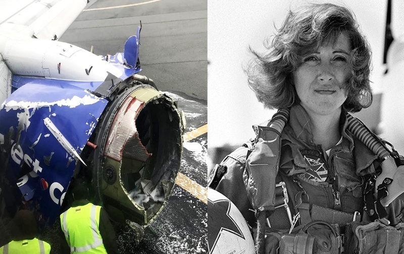 Двигатель самолета взорвался, но женщина-пилот благополучно посадила его