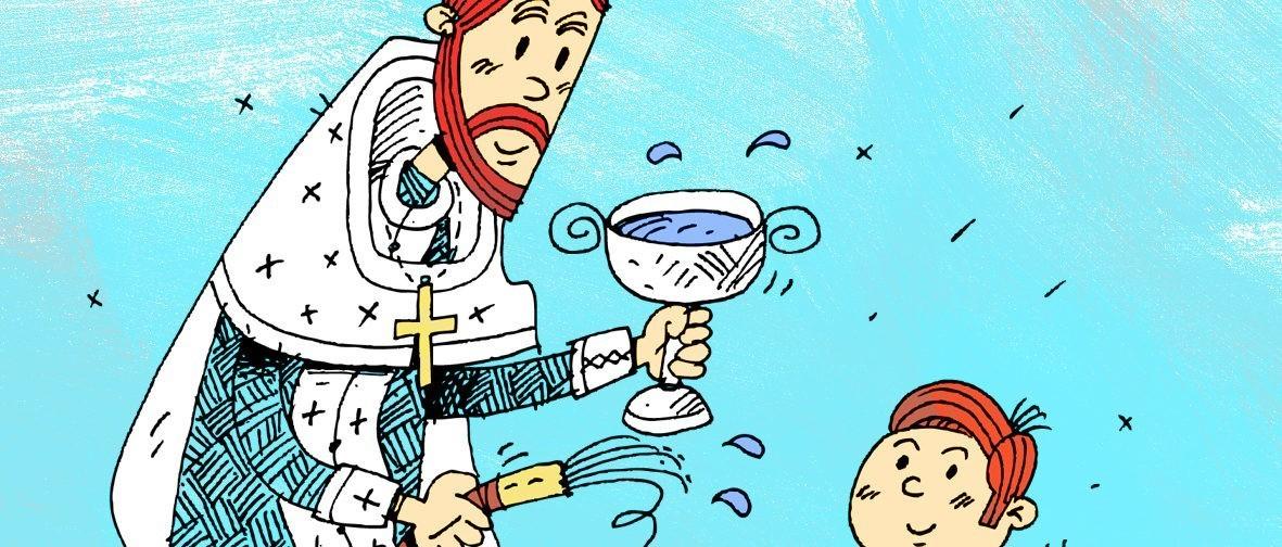 Священники и прихожане стали героями пасхальных открыток